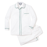 Classic-White-Twill-Pajama-with-Dark-Green-Double-Piping-.png