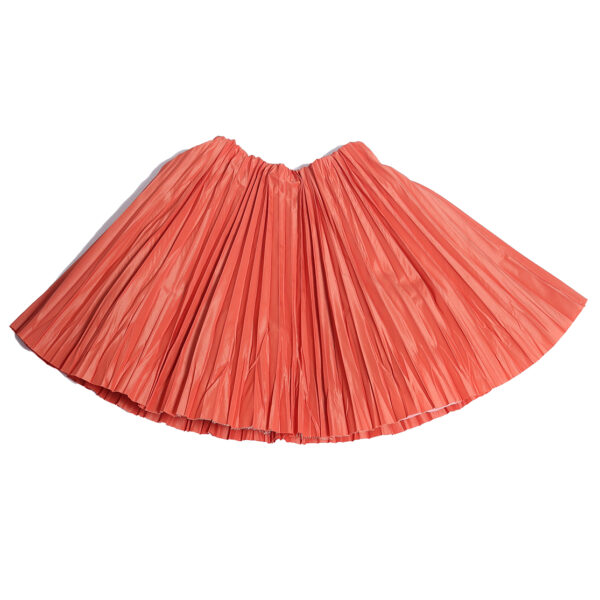 Crushed-Pleated-Twirl-Skirt-SAFFRON-FRONT copy
