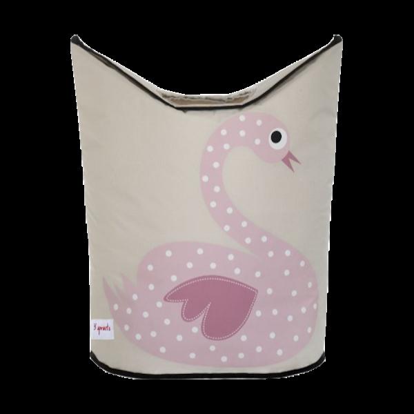 Laundry-Hamper-Pink-Swan.png