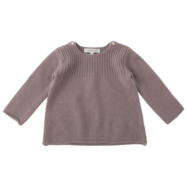 Plum-Shirring-Button-Knit-levender copy