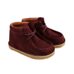 Wallabee leather boot-min
