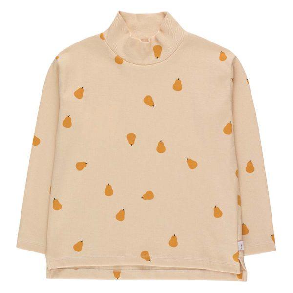 """Pears"" Mockneck Tee copy"