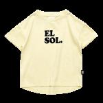 EL SOL Rounded T-Shirt copy 3