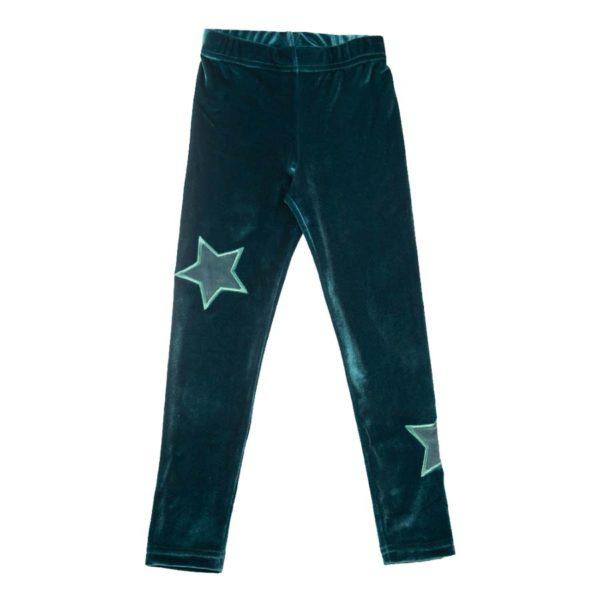 Galaxy Leggings Green (1)