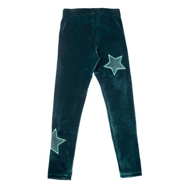 Galaxy Leggings Green (2)