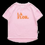 LA FLOR Rounded T-Shirt copy