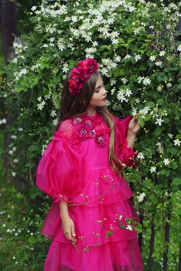Queen Peony And Roses Dress copy