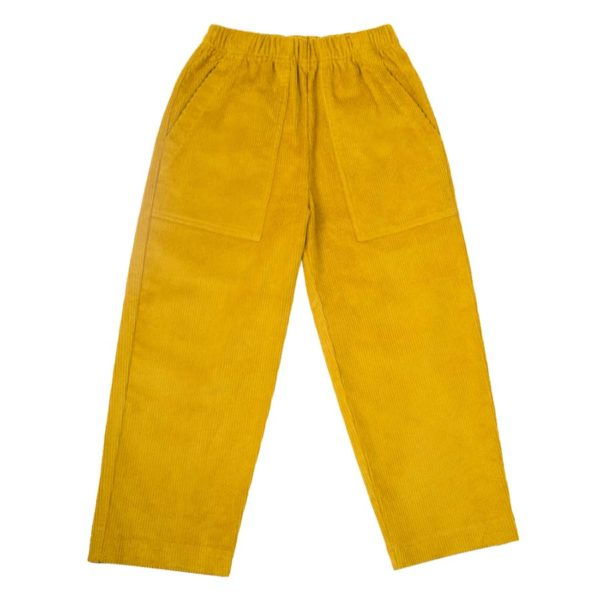 Rafa Trousers Yellow (1)