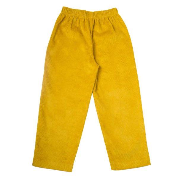 Rafa Trousers Yellow (2)