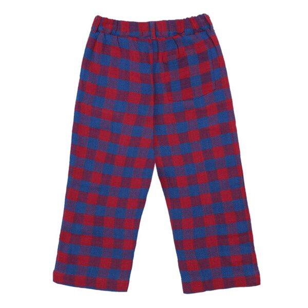 Tartan Woven Pants (1) copy