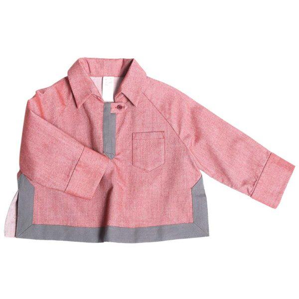 Baby Malick Tunic Pink (1) copy