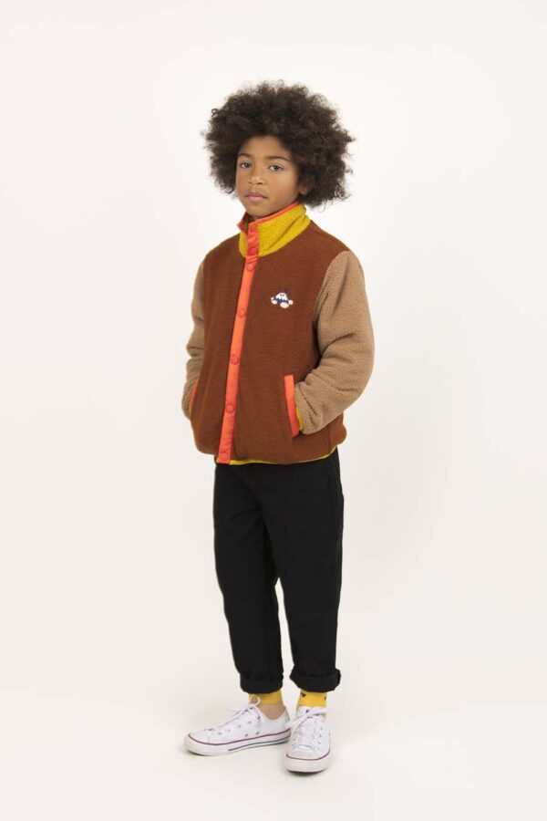 Color Block Polar Jacket M1 copy