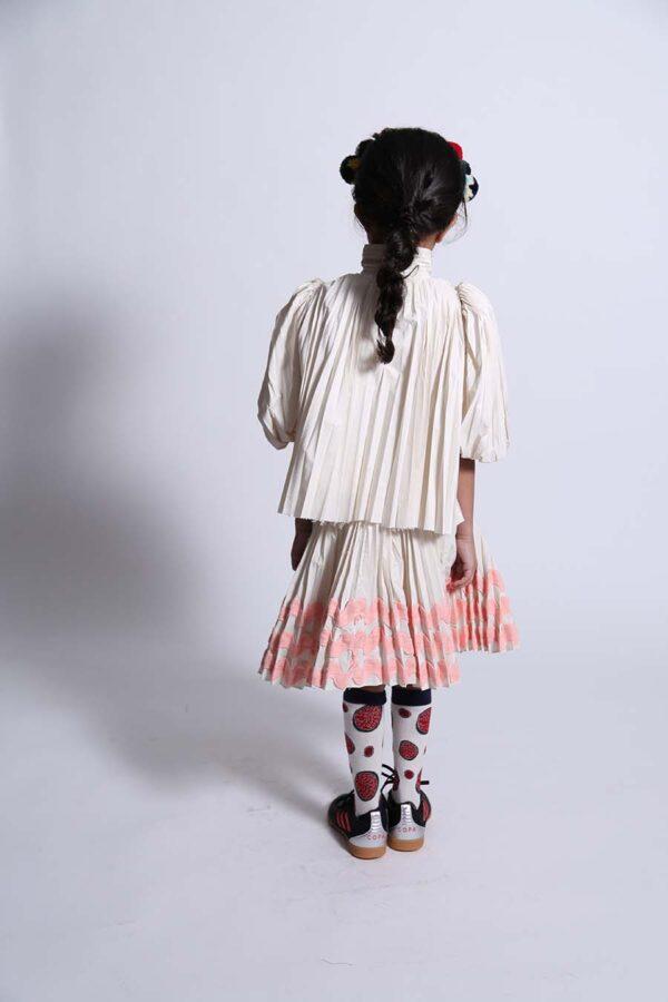 Genoveva Pleated Skirt Genoveva Pleated Blouse (1) copy