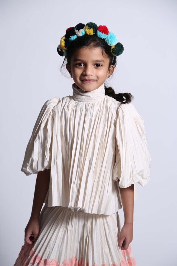 Genoveva Pleated Skirt Genoveva Pleated Blouse (2) copy