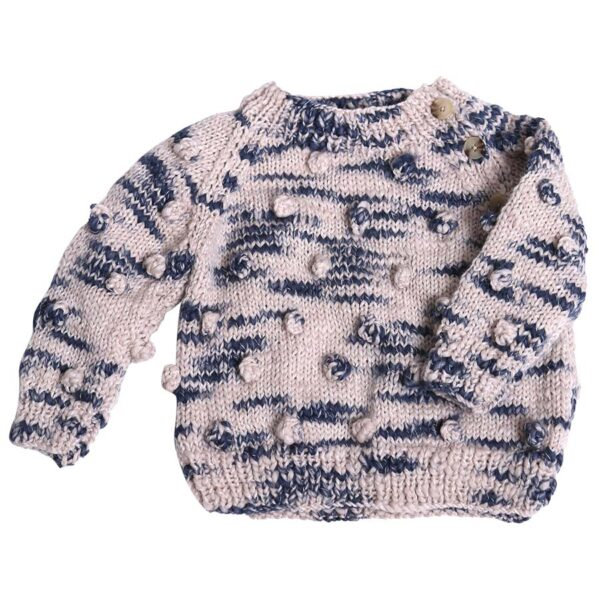 Hand Knit Bobble Pullover (1) copy