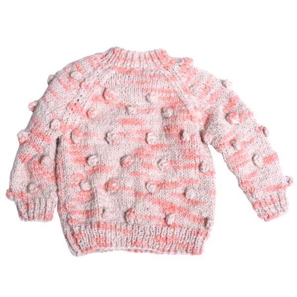 Hand Knit Bobble Pullover (2) copy