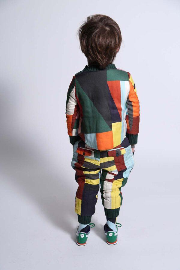 Padded Zip Sweatshirt City Track Pants m(2) copy