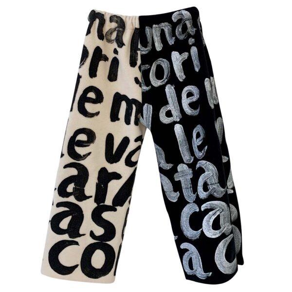 Trousers Ecru X Black (2) copy