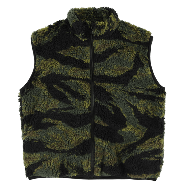 Camo Sleeveless Jacket-min
