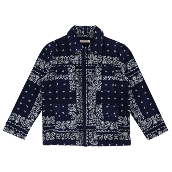 Corduroy Flower Jacket-min